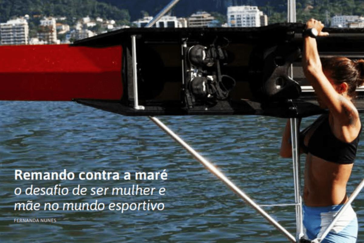 Remando contra a maré: o desafio de ser mulher e mãe no mundo esportivo