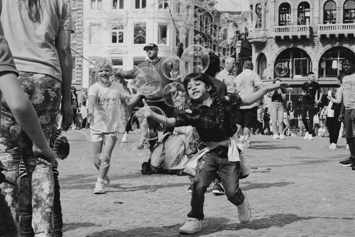 A cidade e as crianças